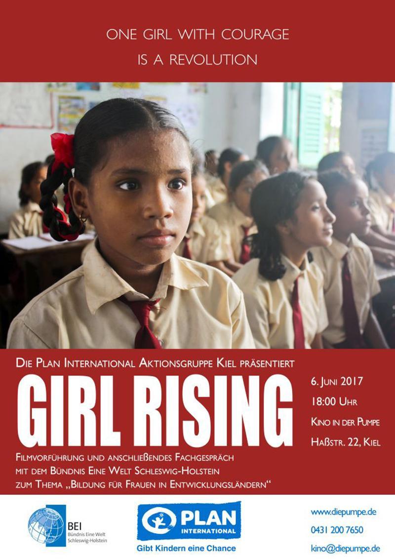 Kino für die Stärkung von Mädchen