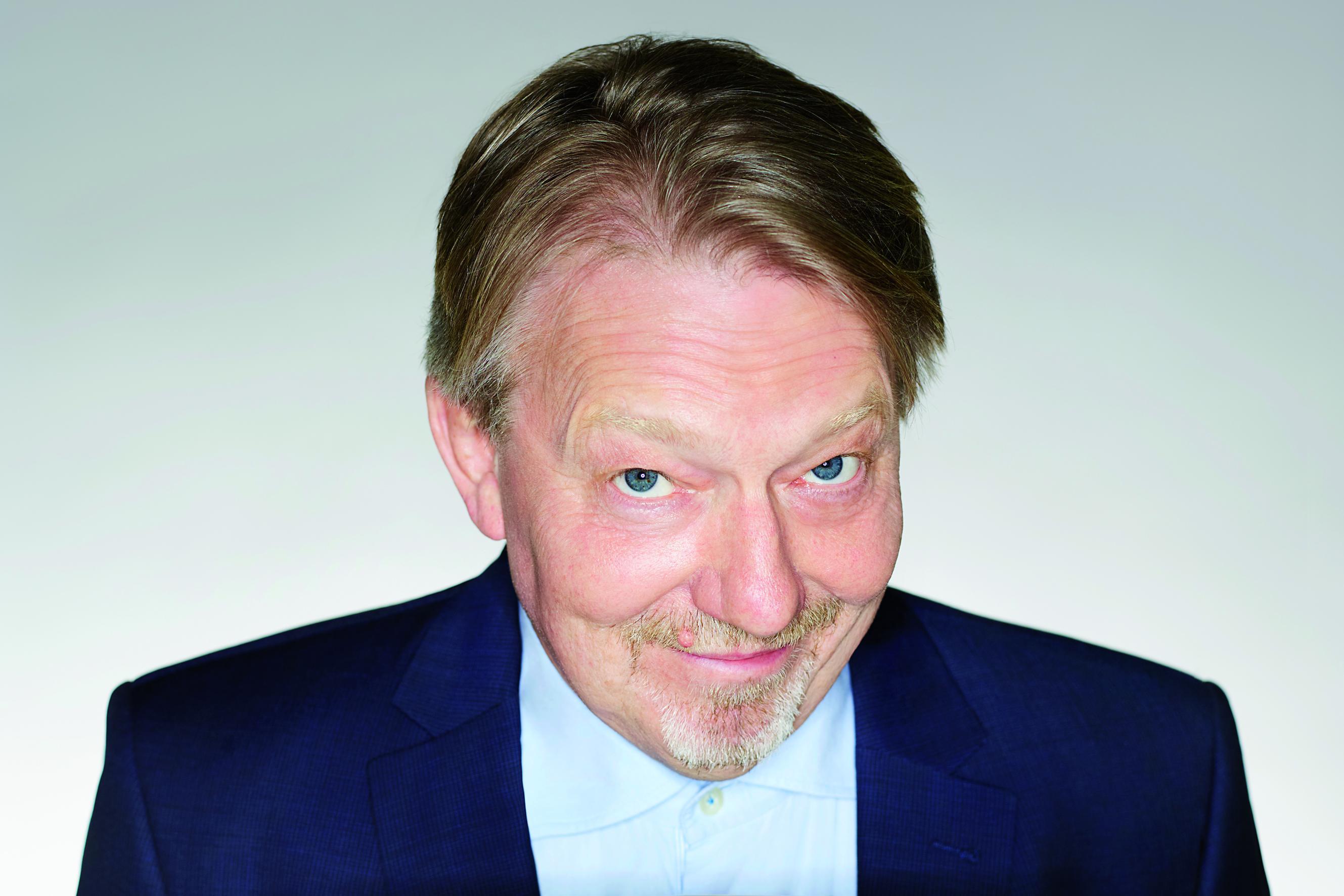 Dietmar Wischmeyer in der Halle 400