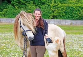 Von Islandpferden und Thaiboxen: Joana Neumann