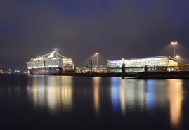 Feiern mit spektakulärem Blick auf Kiel