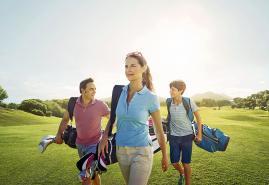 Golf-Erlebnistag für Jung und Alt