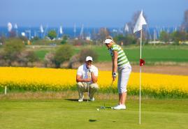 Golf schnuppern auf Gut Uhlenhorst