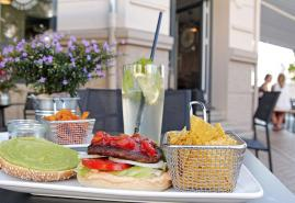 Veganer Genuss im Café Blattgold