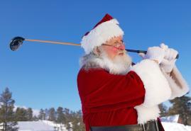 Weihnachtliche Golf-Überraschungen