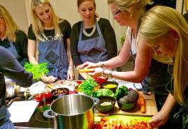 Junggesellenabschied als Küchenparty