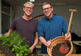 Urban Gardening mit dem Kieler Start-up Rankwerk
