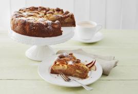 Herbstlich lecker: Veganer Apfelkuchen