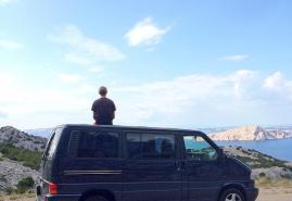 Bulli-Urlaub in Kroatien und Frankreich
