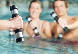 Fit mit Aquafitness