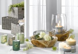 Schönes aus Glas bei Möbel Brügge