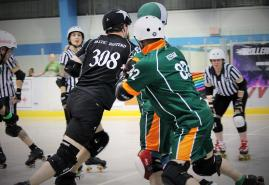 Roller-Derby: Vier Nationalteams gehen an den Start