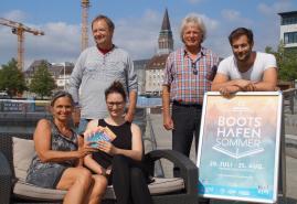 Zehn Jahre Kieler Bootshafensommer