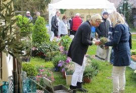 Gartenmesse auf Schloß Bredeneek