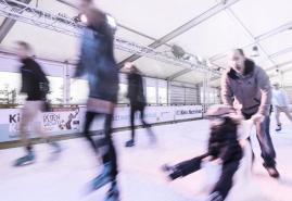 Das Eisfestival endlich im echten Heimathafen