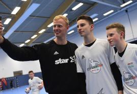 Handball-Talente gesichtet