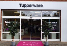 Tupperware eröffnet Partycenter