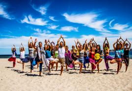Yoga Festival am Falckensteiner Strand