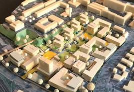 Neues Wohnquartier in Gaarden