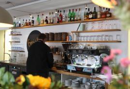 Das Restaurant Freistil im Lessingbad
