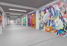 Viva con Agua veranstaltet Kunstspektakel