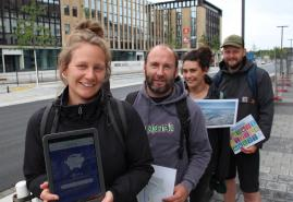 "Stadt-Rallyes erschließen das ""grüne Kiel"""