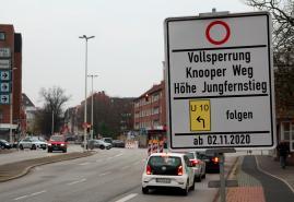 Knooper Weg bleibt länger gesperrt