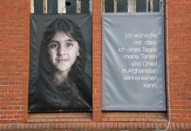 Ausstellung im Anscharpark: Menschen AFGHANISTAN