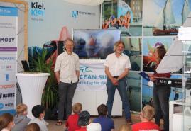 Polarforscher zu Gast in Kieler Expeditionscamp