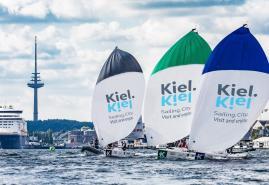 Segel-Elite misst sich in Kiel
