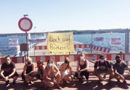 Per Petition zur Badestelle Bellevue