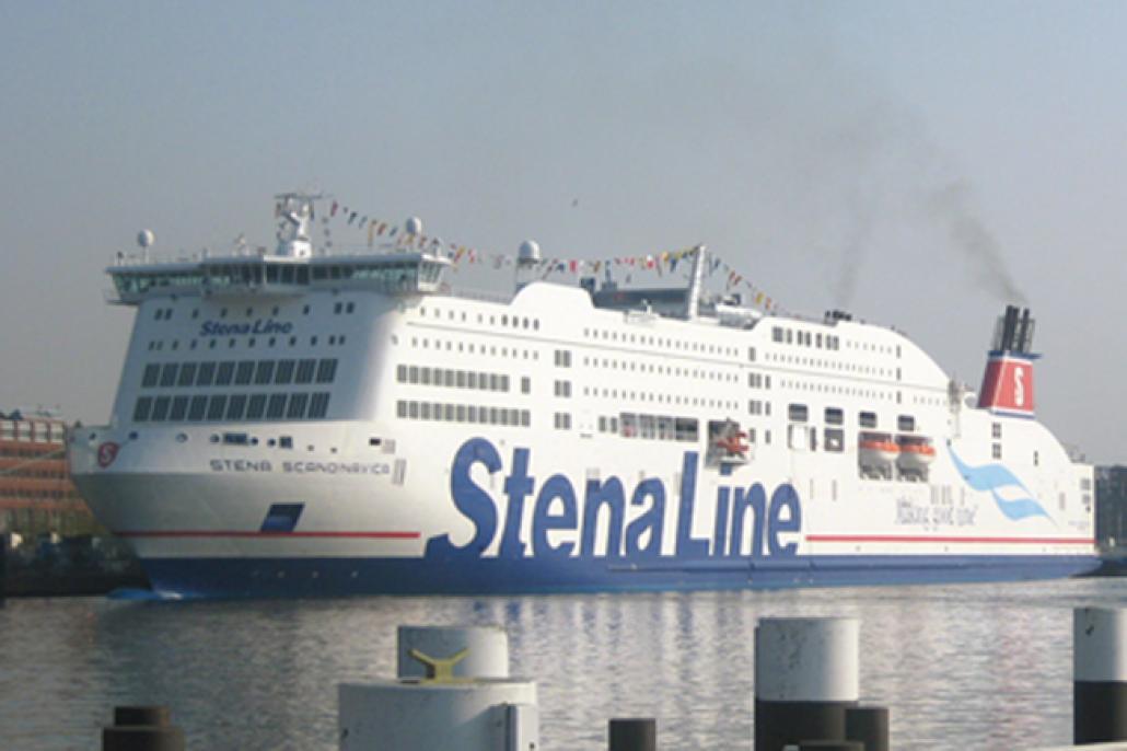 Willkommen, Stena Scandinavica IV!