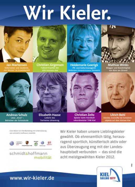 Die Lieblingskieler 2012 stehen fest