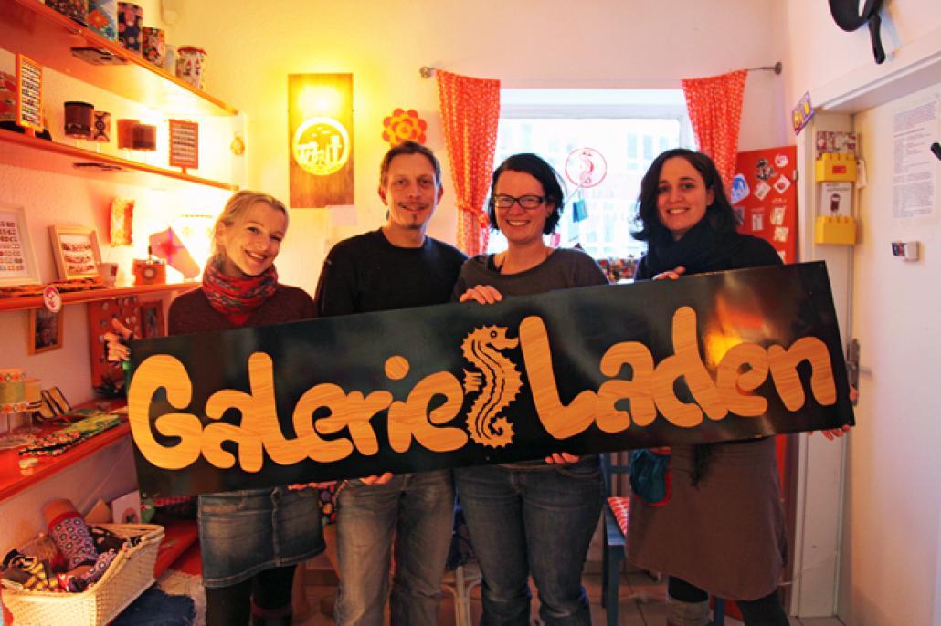 Maria Soler, Eike Schöneich, Karoline Scholz, Sandra Rudolph (v. li.)