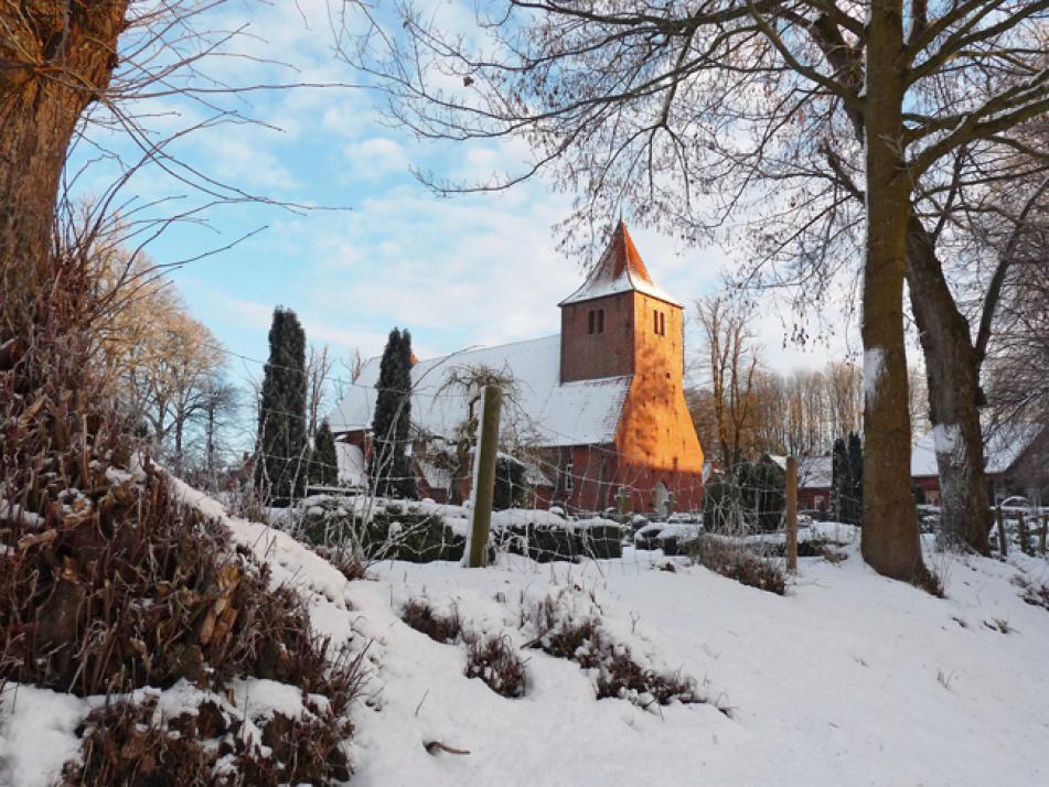 Die St. Catherinen–Kirche in Westensee