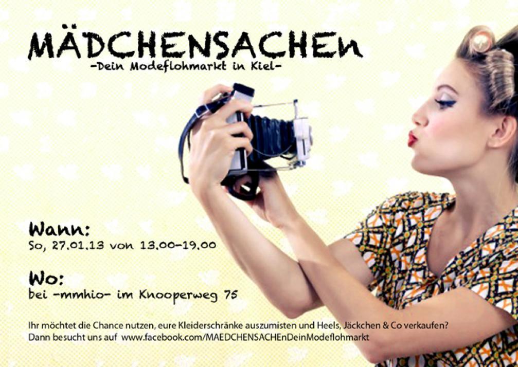 MÄDCHENSACHEn – Der Modeflohmarkt in Kiel