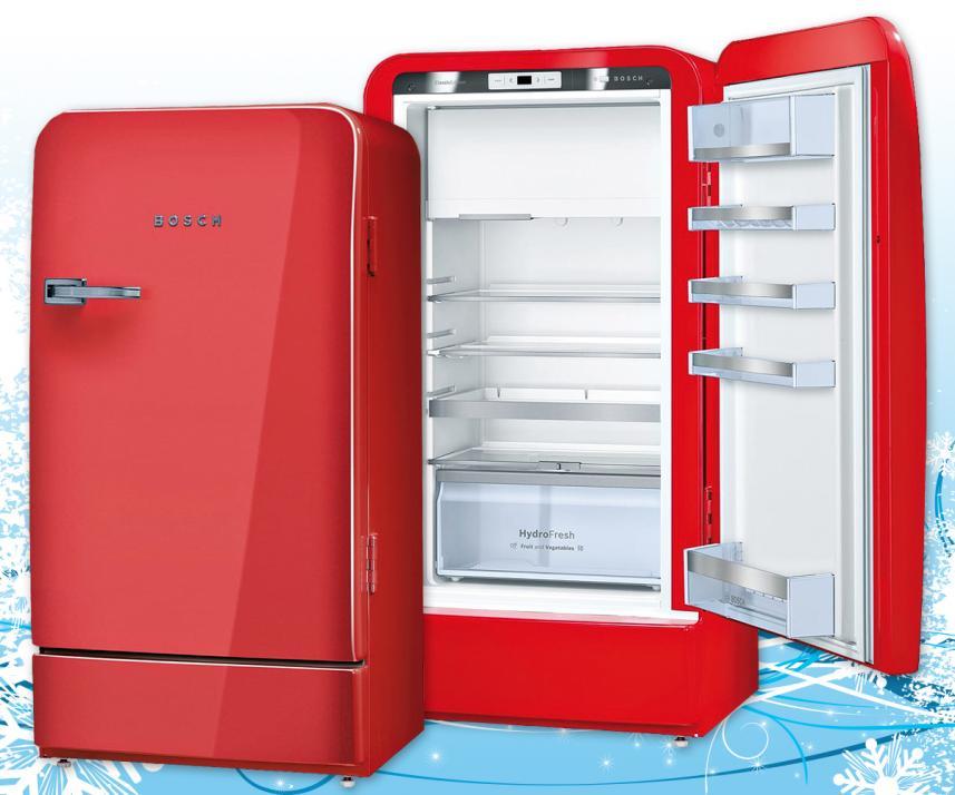 Dieser Kühlschrank Ist Außen Retro, Innen Modern