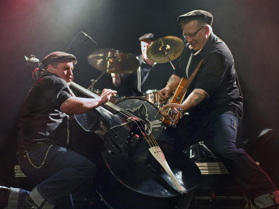 Die Band Hepcazz tritt dieses Jahr in der Bäckerei Günther auf