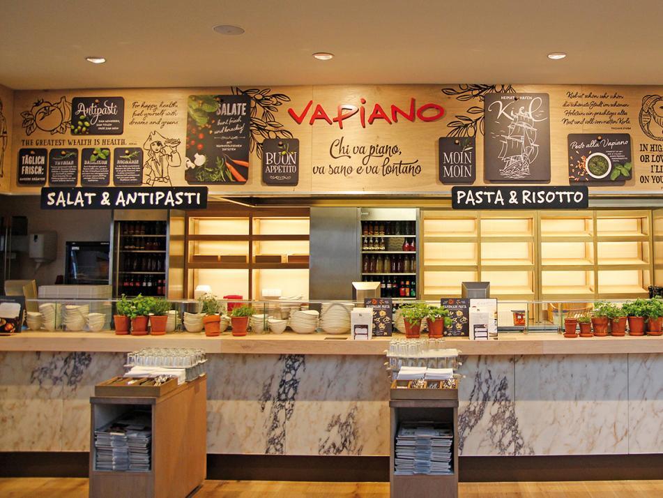 Vapiano Kiel – jetzt noch gemütlicher