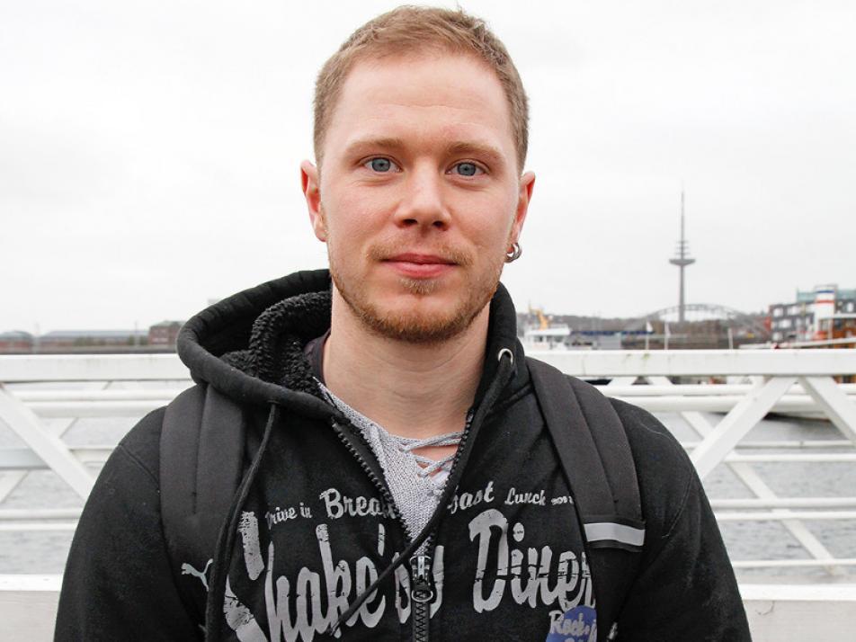 """Bjømar (29) """"Ich werde im neuen Jahr weniger trinken!"""""""