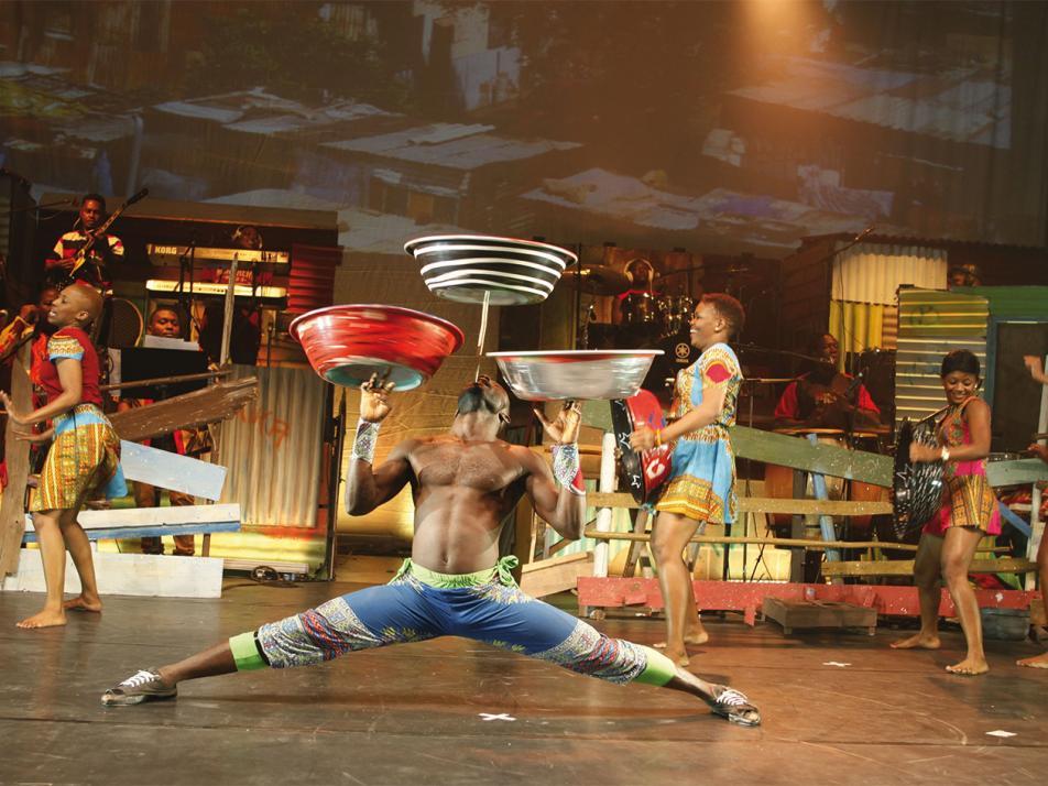Circus der Sinne in der Sparkassen-Arena-Kiel