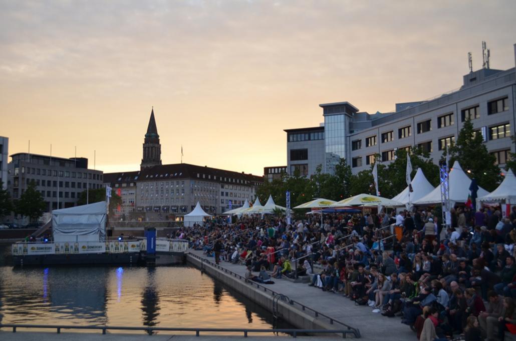 Werdet Teil des achten Kieler Bootshafensommers und bewerbt euch bis zum 31. März!