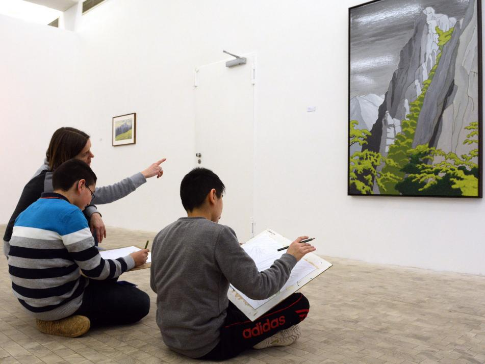 """Neue Sichtweisen eröffnet die Kunstaktion """"Sonntags Kunst!"""" in der Stadtgalerie"""