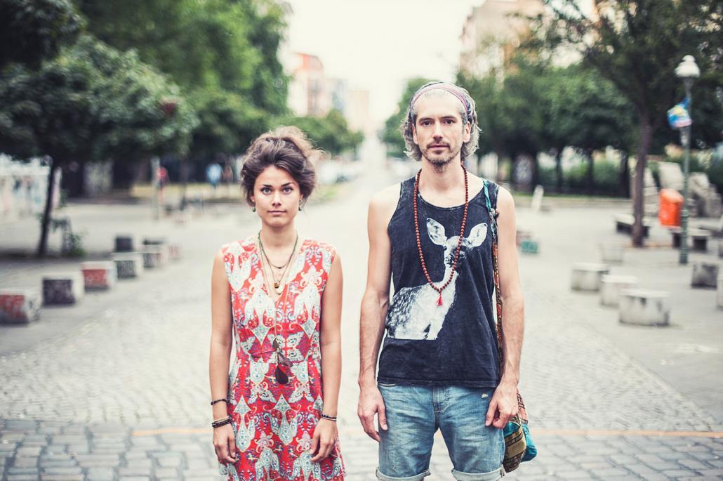 """Marianne Neumann und Rocco Horn alias """"Berge"""""""