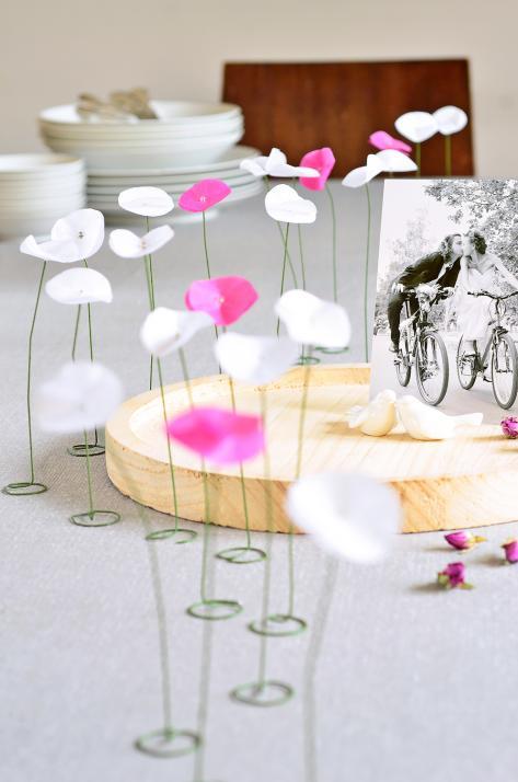 DIY-Tipp: Dekoration für die Hochzeitstafel