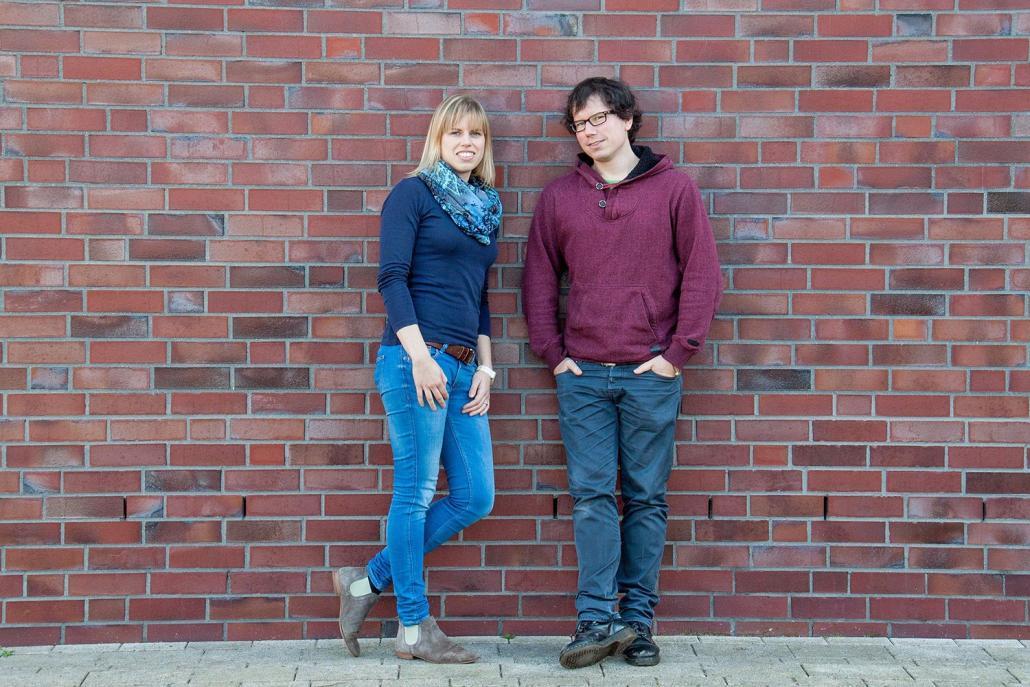 Die Gründer von Flowy Apps: Annika Schulz und Torben Haase