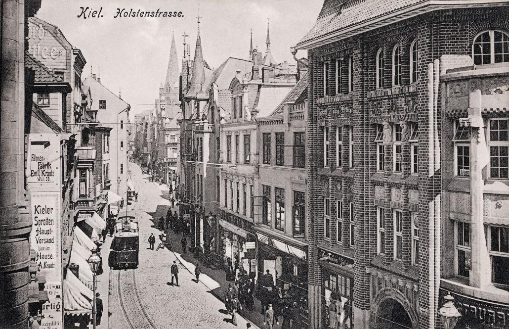 Bilder aus Kiel vor 100 Jahren