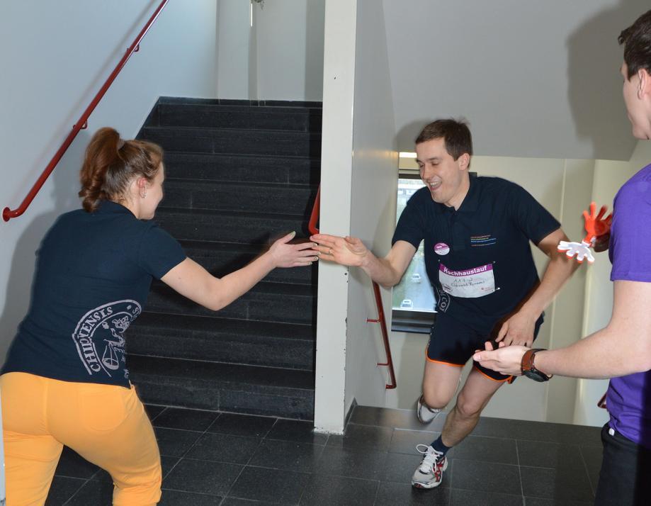 170 Läuferinnen und Läufer nahmen im letzten Jahr am ersten Hochhauslauf der CAU teil