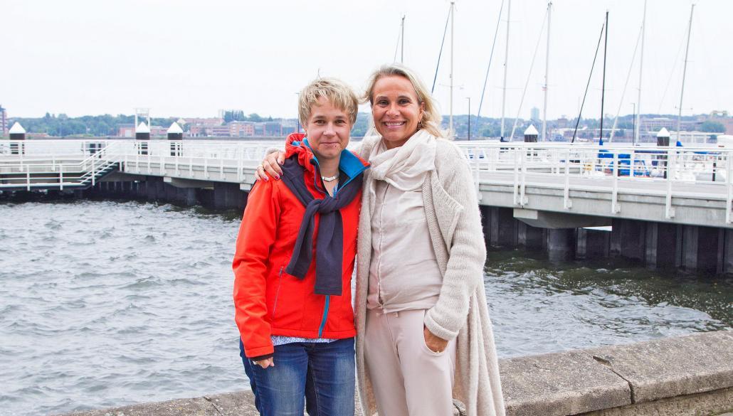 Renate Scharafat und Sandra Dalisda begleiten als Doulas werdende Mütter