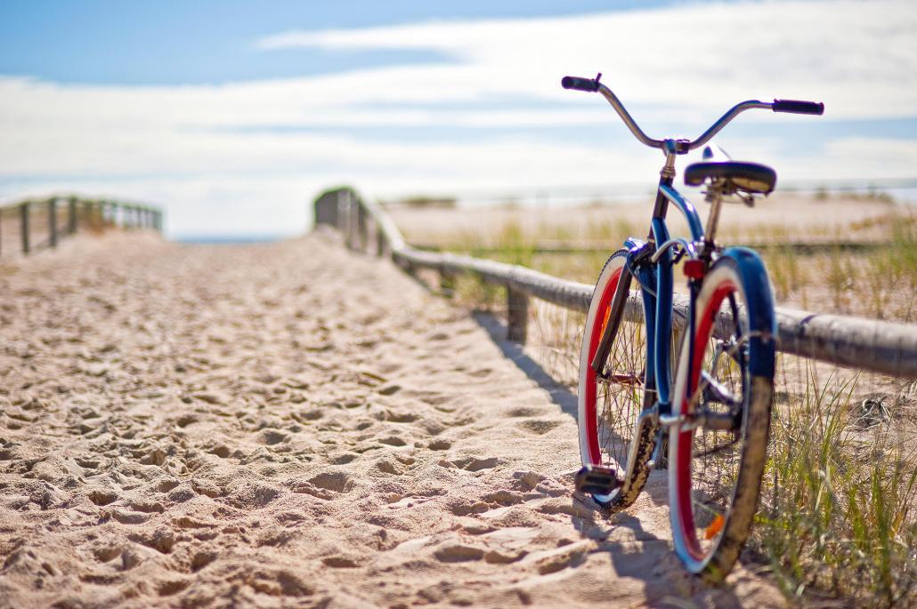 John fährt zur Entspannung am Liebsten mit dem Rad durch Kiel