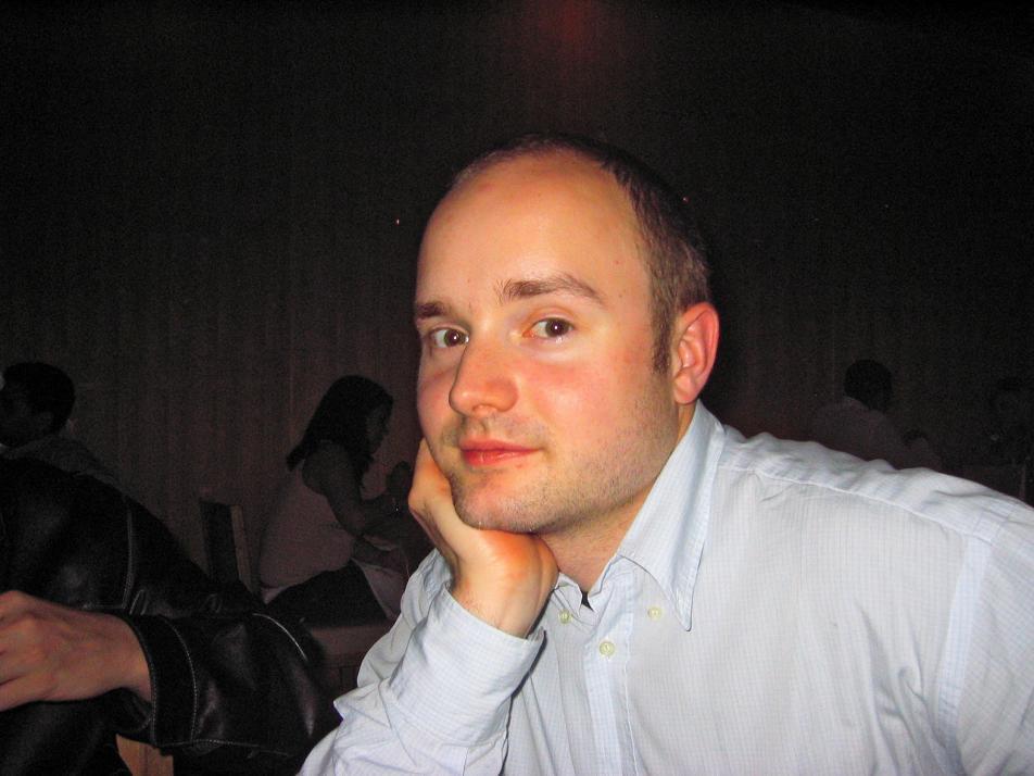 Mathias im Alter von 24 in London
